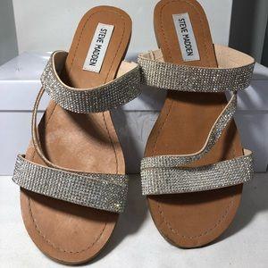 """Steve Madden """"Crystal"""" Sandals"""